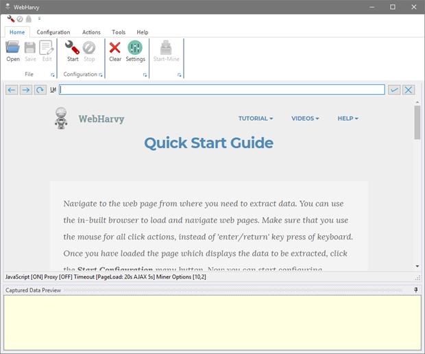 WebHarvy برنامج للمسوقين لسحب البيانات او المعلومات من اي صفحة أو موقع