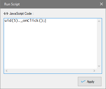 Run Java Script Code on Page, Scraping